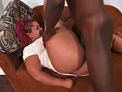 Ebony Booty Banged